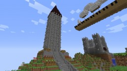 Sinisi (Capital of the Zjinian Civ) Minecraft Map & Project