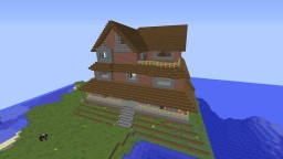 Big Brick House Minecraft Map & Project