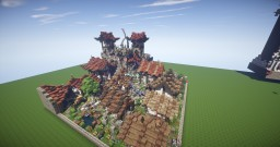 Epic japanese City 50x50 By D_fantome Minecraft Map & Project
