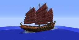 Large Imperial Junk - Fuku Riu Minecraft Project