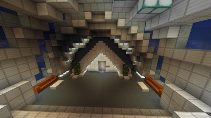 Hallway doorway