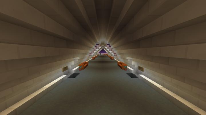 BioInc hallway underwater