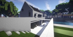 Modern Reconversion House Minecraft Project