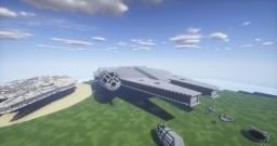Faucon millénium Star Wars 7 Minecraft Project