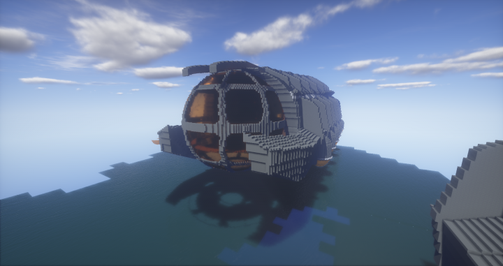 submarine ulysse atlantide l u0026 39 empire perdu minecraft project