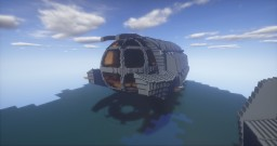 Submarine Ulysse Atlantide l'empire perdu Minecraft Map & Project