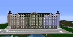 European city block apartments Minecraft Project