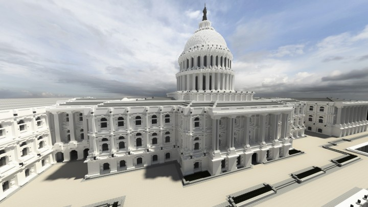 United States Capitol CTCH Minecraft Project - Minecraft us capitol map