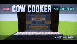 Cow Cooker 6x6x6 Minecraft Map & Project