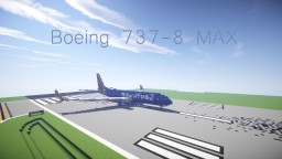 Boeing 737-8 MAX Southwest Airlines Minecraft Map & Project