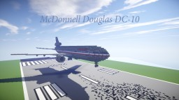 McDonnell Douglas DC-10 Minecraft Map & Project
