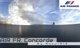 Air France Concorde Minecraft Project