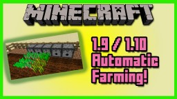 Automatic Farming In Vanilla With One Command! Minecraft Map & Project