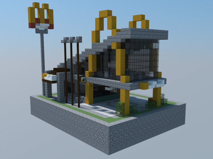 Modern Mcdonalds Minecraft Project