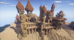 Fantasy Desert Castle Minecraft