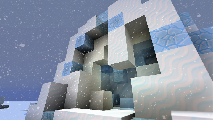 Ice Portal Minecraft Project