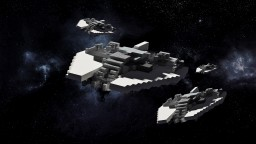 Xexon-Class Heavy Fighter Minecraft Map & Project