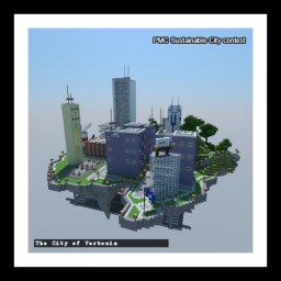 Sustainable City-Verbonia Minecraft Map & Project