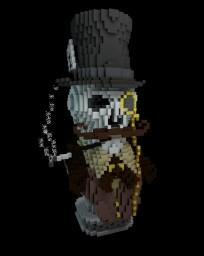 Victorian Skull Minecraft