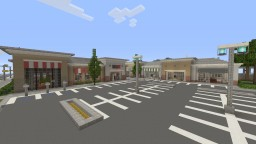 Strip Mall Minecraft Map & Project