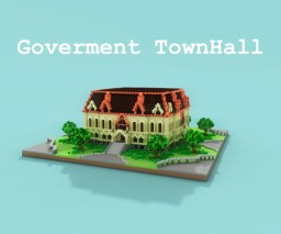 Government Townhall Minecraft Map & Project