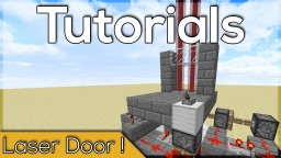 EASY! Laser Security System Door!  -1.10 Minecraft Blog Post