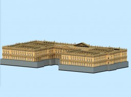 Unfinished Baroque facade Minecraft