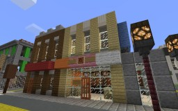 Dunkin' Donuts Minecraft Map & Project