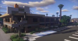 1960s Motel - Greenfield Replica Minecraft Project