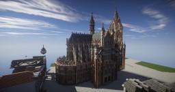 Horken Main Church - Horken Dutch City © Minecraft