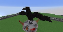 Raven made on creative server. Minecraft Project