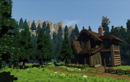 Wood House Minecraft Map & Project