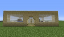 Simple quick house Minecraft Map & Project