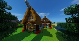 Two Story Rustic House Minecraft Map & Project