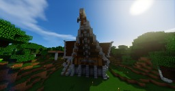 Large Rustic Mansion Minecraft Map & Project