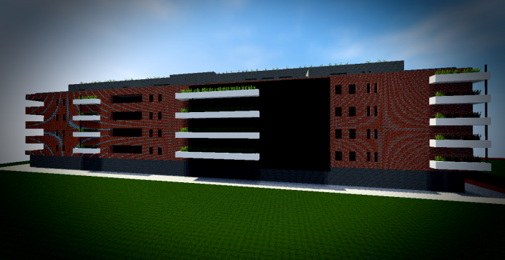 B timent moderne 2 minecraft project - Batiment moderne ...