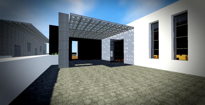 Maison moderne 9 minecraft project - Maison modern minecraft ...