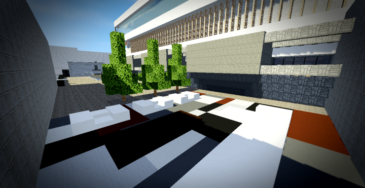 Maison moderne 9 minecraft project for Minecraft maison moderne