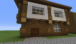 Wooden Old Shop Minecraft Map & Project