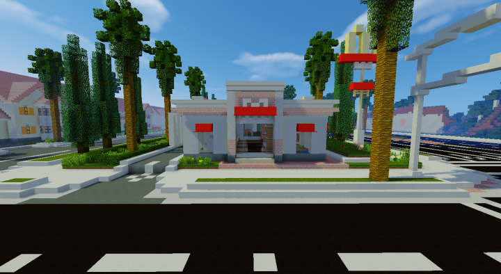 McDonalds from the front