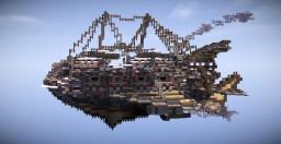 Small Battleship Minecraft Map & Project