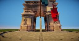 Arc De Triomphe Minecraft Project