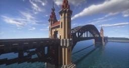 Railway Bridge Minecraft Map & Project