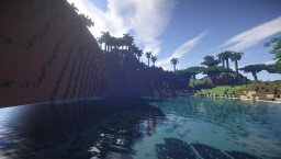 Custom realistic terrain-Paradise islands Minecraft Map & Project