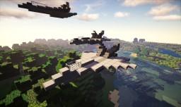 F/A-18,F/A-18F Minecraft Map & Project