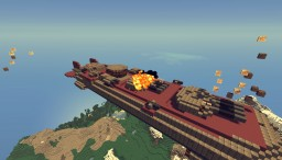 airship U.S.S Texas - New York MK2 (movecraft 1.8) Minecraft Project