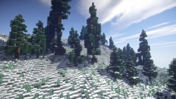 Custom realistc terrain-Arctic Minecraft Map & Project
