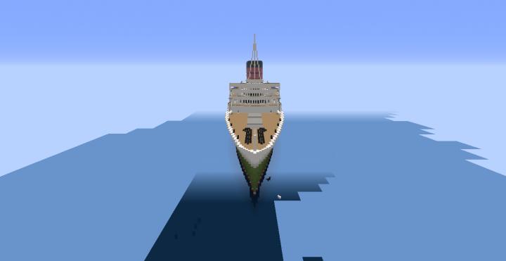 R.M.S. Caronia 2016 update Minecraft Map
