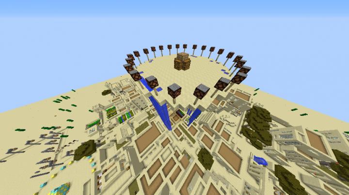 The Creeper Desert Minecraft 1 12 2 Survival Games Map