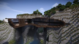 Modern Mountain House #2 Minecraft Map & Project